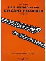 First Repertoire for Descant Recorder with Piano