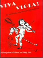 Viva Viola ! - 20 entertaining easy pieces for viola and piano