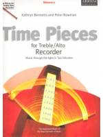 Time Pieces for Treble/Alto Recorder Vol. 1