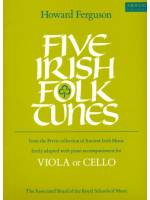 Five Irish Folk Tunes (viola or cello)