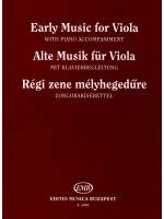 Early Music for Viola & Piano